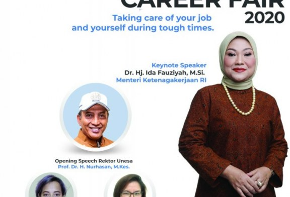 "UNESA Virtual Career Fair 2020 ""Taking Care Of Your Job And Yourself During Tough Times"""